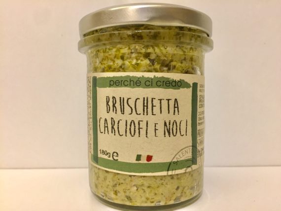 Bruschetta Carciofi E Noci