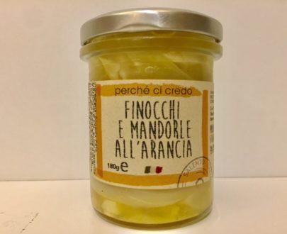 Finocchi E Mandorle All'arancia