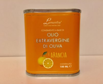 Olio Extravergine Di Oliva E Arancia
