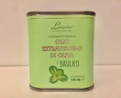 Olio Extravergine Di Oliva E Basilico