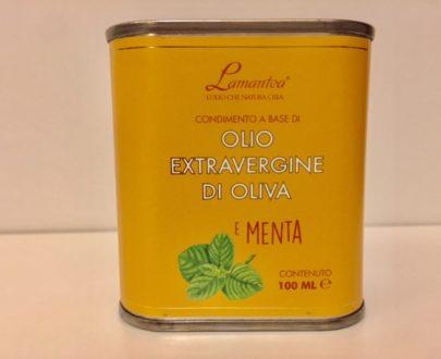 Olio Extravergine Di Oliva E Menta