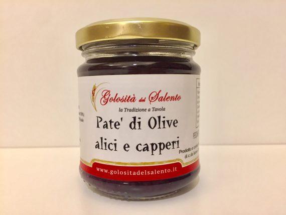 Pate' Di Olive Alici E Capperi