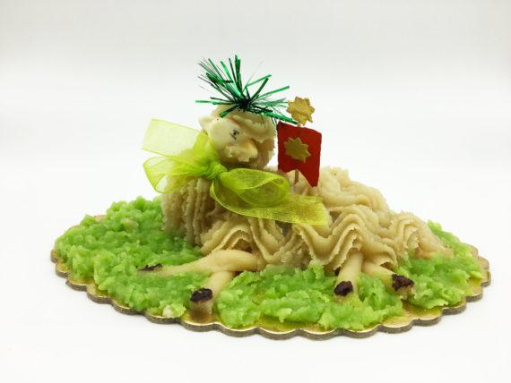 Agnello Pasta di Mandorle